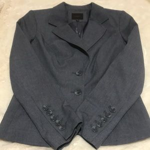 Limited Gray Suit Jacket Size 0